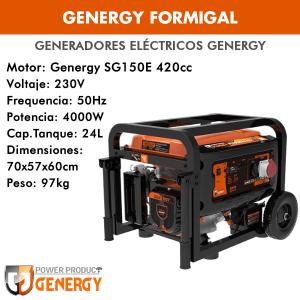 Generador eléctrico Genergy Formigal