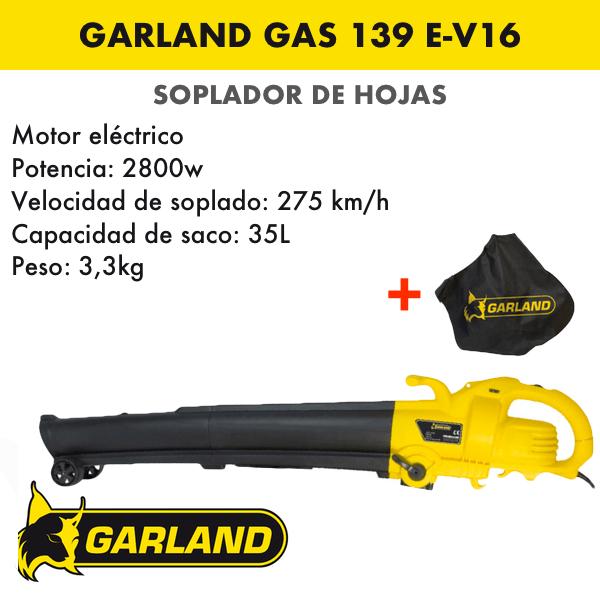 garland gas 139 e-v16