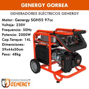 Generador eléctrico Genergy Gorbea