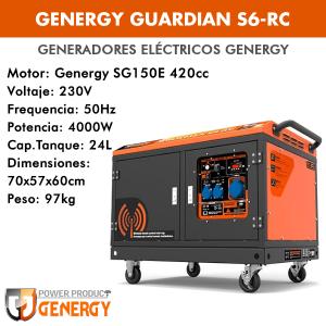Generador eléctrico Genergy Guardian S6-RC