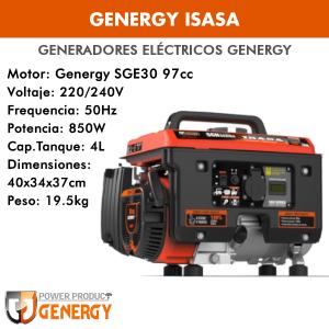 Generador eléctrico portátil Genergy Isasa