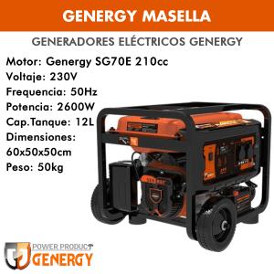 Generador eléctrico Genergy Masella