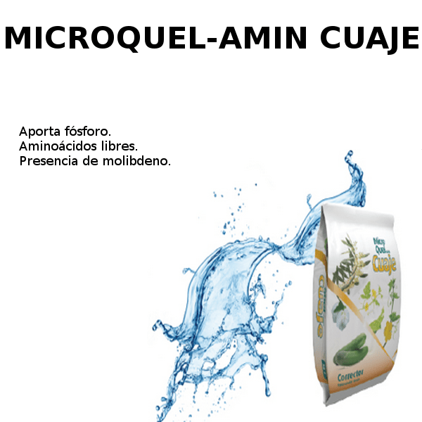 microquel-amin cuaje