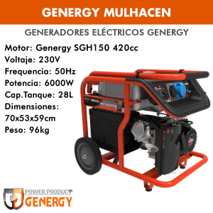 Generador eléctrico Genergy Mulhacen