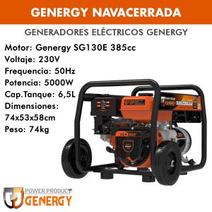 Generador eléctrico Genergy Navacerrada