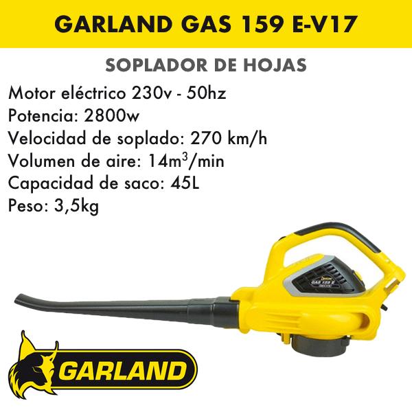 soplador garland gas 159 e-v17