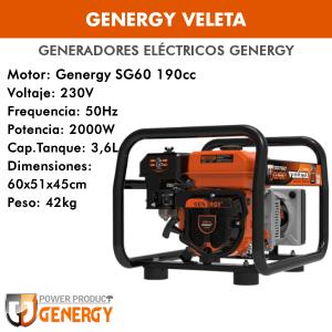 Generador eléctrico Genergy Veleta