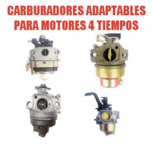 Carburadores y accesorios para Motores 4 Tiempos
