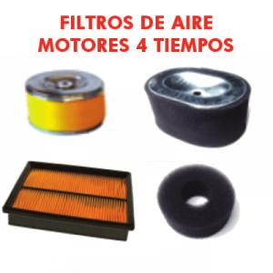 Filtros de aire Motores 4 Tiempos