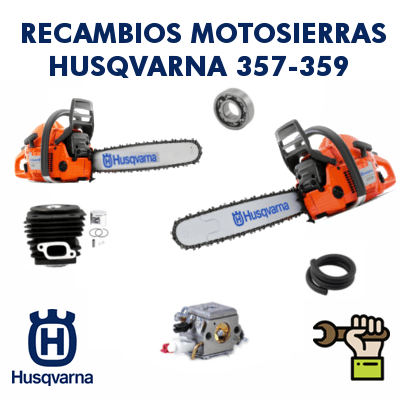 Recambios para motosierras Husqvarna 357-359