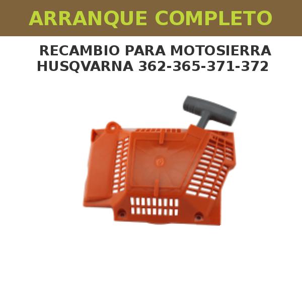 43 Arranque completo para motosierra Husqvarna 362-365-371-372