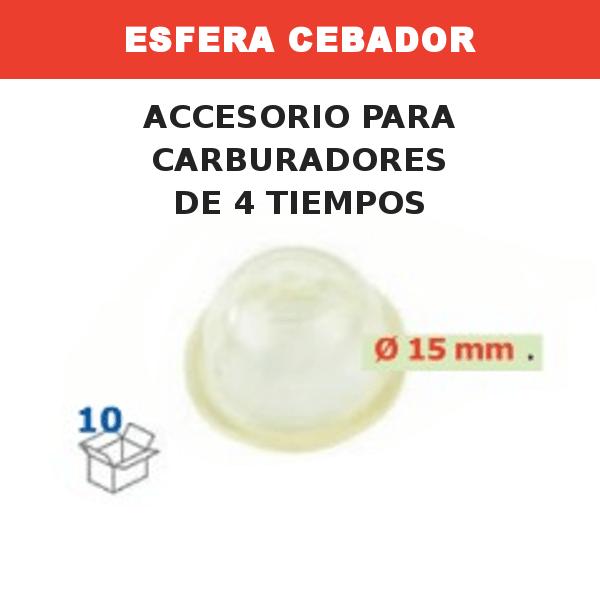 7 Esfera Cebador 15mm