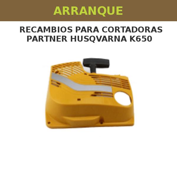 Arranque para partner husqvarna k650