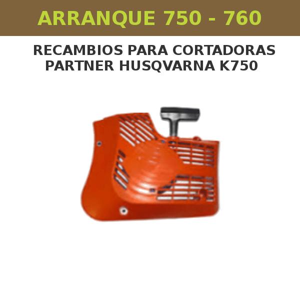 Arranque para partner husqvarna k750 - 760
