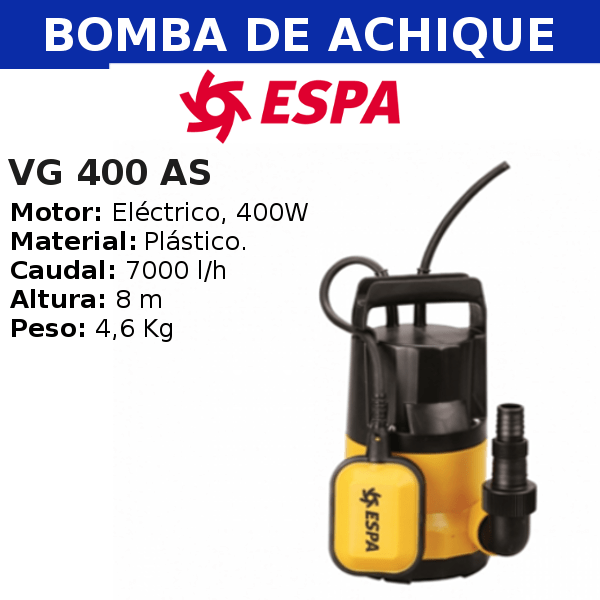 Bomba de Achique VG 400 AS