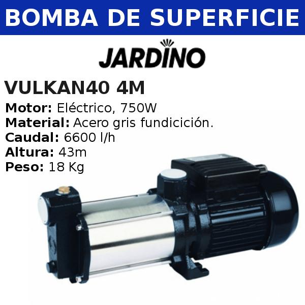 Bomba de agua de superficie VulKAN40 4M