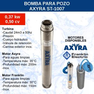 Bomba para Pozo Axyra ST-1007