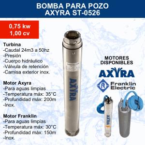 Bomba para pozo Axyra ST-0526