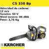 Motosierra Karcher CS 330 Bp