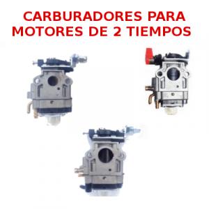 Carburadores adaptables para motores de 2 tiempos