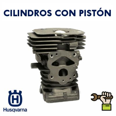 Cilindros con Pistón para Motosierras Husqvarna