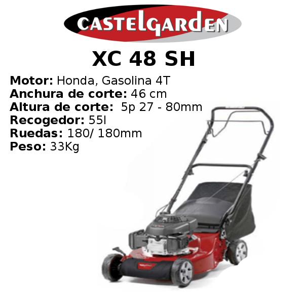 Cortacésped Castelgarden XC 48 SH