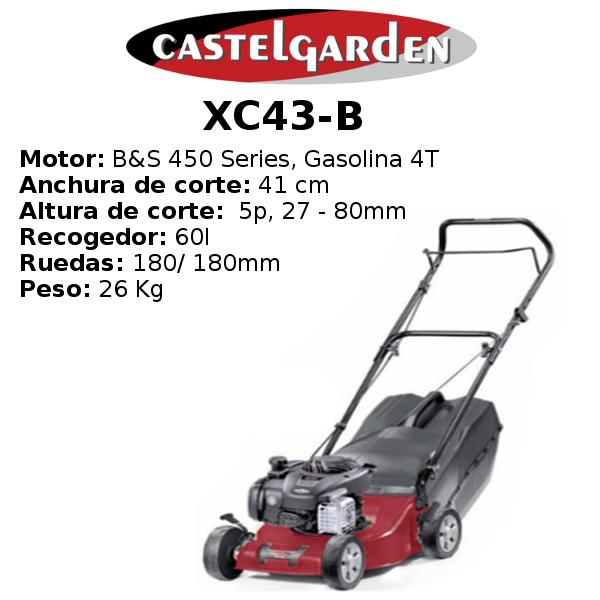 Cortacésped Castelgarden XC43-B