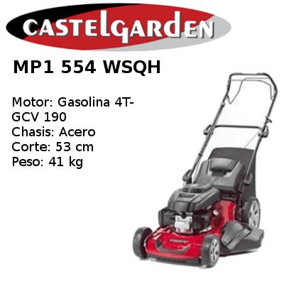 Cortacésped Castelgarden MP1 554 WSQH