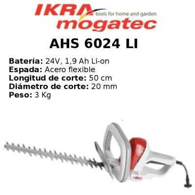 Cortaseto Eléctrico Ikra Mogatec AHS 6024 LI