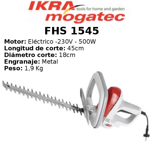 Cortasetos Irka Mogatec FHS 1545