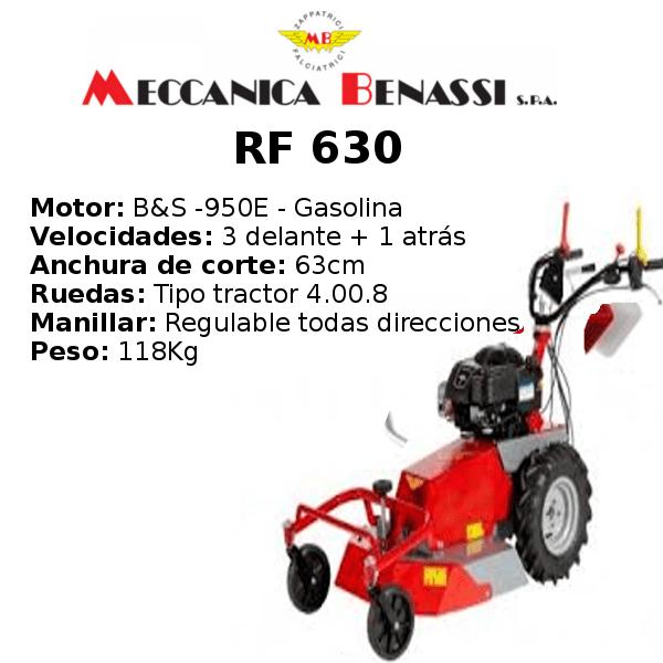 Desbrozadora de Ruedas Meccanica Benassi RF 630