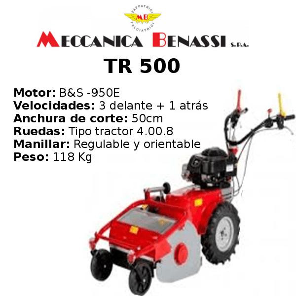 Desbrozadora de Ruedas Meccanica Benassi TR 500