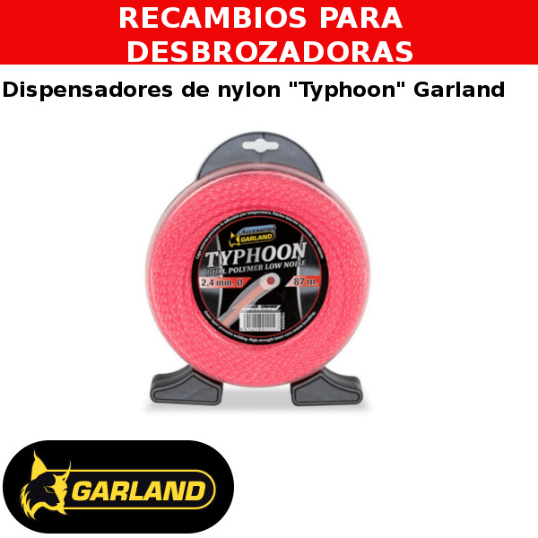 Dispensador de nylon Typhoon Garland