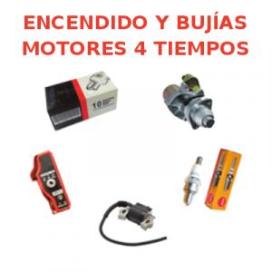 Encendido y Bujías Motores 4 Tiempos