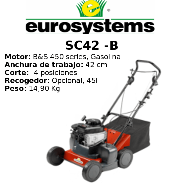 Escarificador Eurosystems SC42 -B