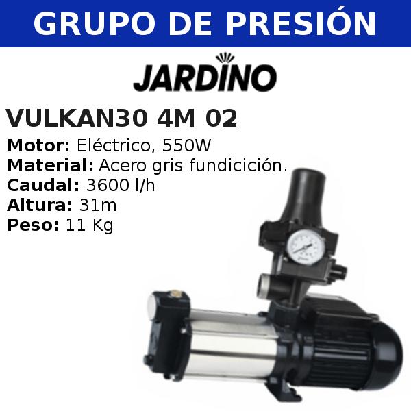 Grupo de presión vulkan 30 4M 02