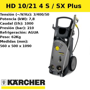 Hidrolimpiadora Karcher HD 10/21 4S