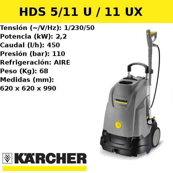 Hidrolimpiadora Karcher HDS 5/11 U