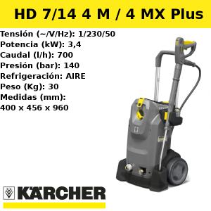 Hidrolimpiadora Karcher HD 7/14 4 M