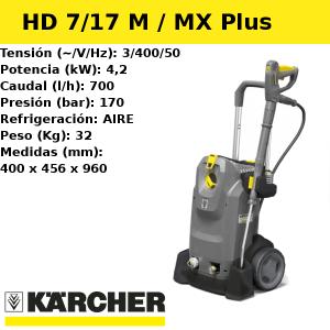 Hidrolimpiadora Karcher HD 7/17 M