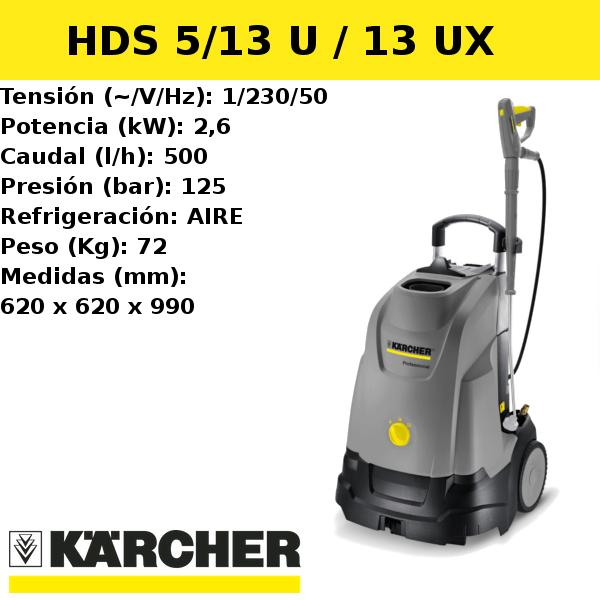 Hidrolimpiadora Karcher HDS 5/13 U