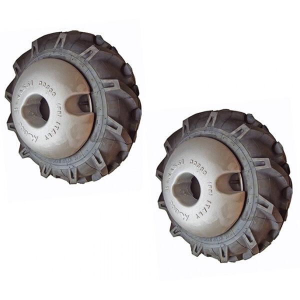 Juego de Pesos 50 Kg para las Ruedas para Motucultor Meccanica Benassi MTC 620 y MTC 620 D