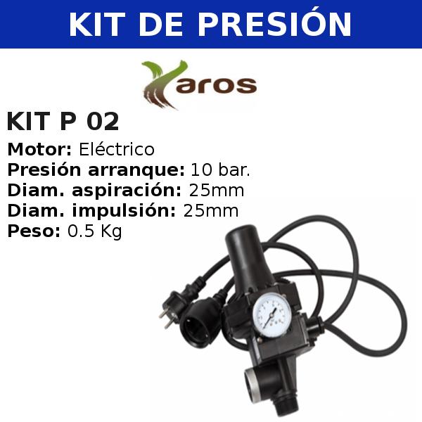 Kit de presión KIT P 02