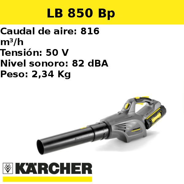 Soplador Karcher LB 850 Bp