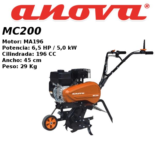 Motoazada Anova MC200