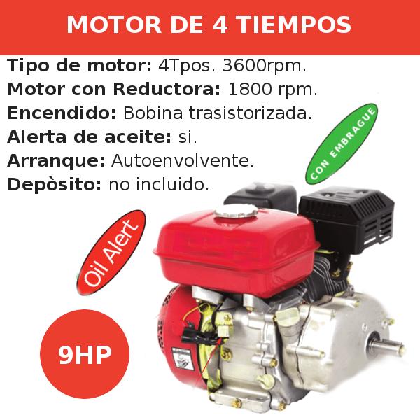 Motores 4 tiempos Generadores Carrozados cilindrico 1800 rpm9ph