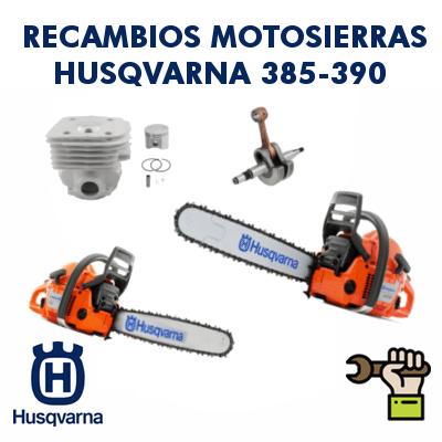 Recambios para motosierras Husqvarna 385-390 (Tambien para Jonsered 2186 - 2188)