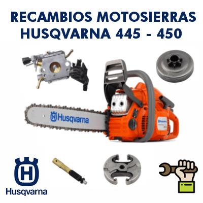 Recambios para motosierras Husqvarna 445 - 450