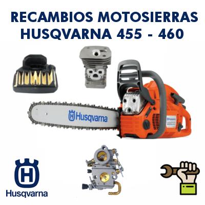 Recambios para motosierras Husqvarna 455 - 460