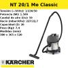 Aspirador Karcher NT 20/1 Me Classic